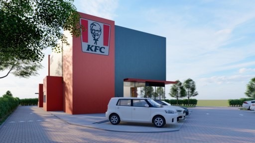 KFC Kentucky Fried Chicken naar Bilzen Beter Bilzen